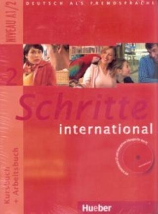 Kniha : Schritte international 2 - Paket - KB + AB mit Audio-CD + Gloss.