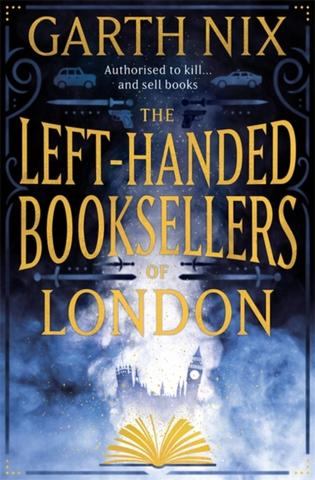 Kniha : The Left-Handed Booksellers of London