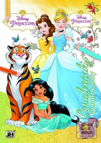Omalovánky Princezna