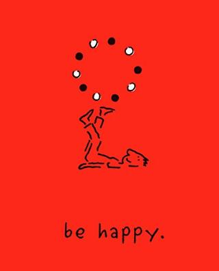 Kniha : Be Happy: A Little Book to Help You Live a Happy Life