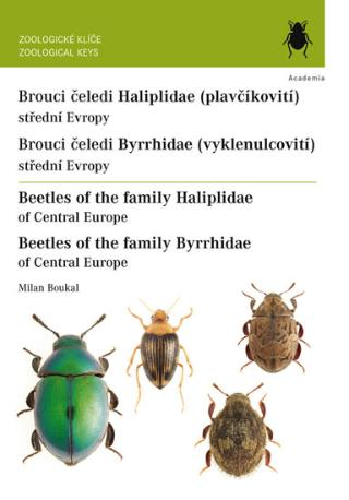 Kniha : Brouci čeledí plavčíkovití a vyklenulcovití / Beetles of the family Haliplidae and Byrrhidae - Beetles of the family Haliplidae and Byrrhidae - 1. vydanie
