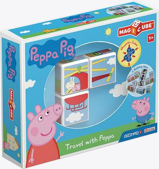 Hračka : Stavebnice Peppa Pig Magicube Travel with Peppa