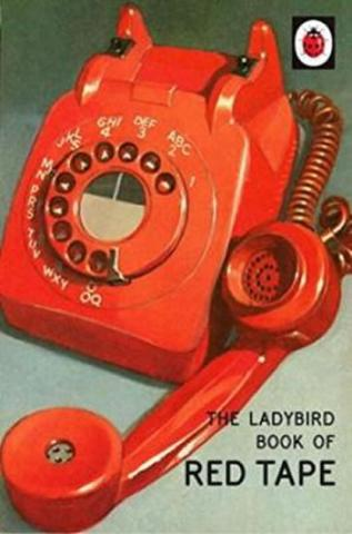 : The Ladybird Book Of Red Tape - 1. vydanie