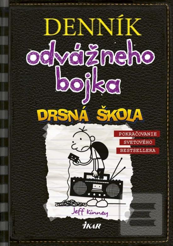 16851168e slovensky. Kniha : Denník odvážneho Bojka: Drsná škola - Denník odvážneho  Bojka 10 - 1.