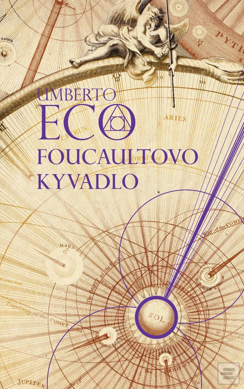Kniha Foucaultovo kyvadlo (Umberto Eco)