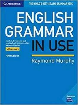 Kniha : English Grammar in Use 5th edition - with key