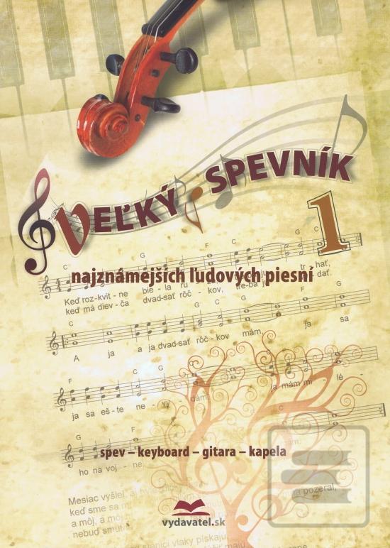 Veľký spevník najznámejších ľudových piesni 1 (Vladimír Dobrucký)