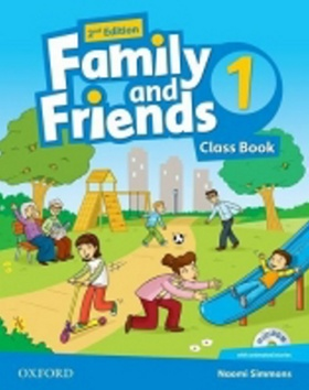 Kniha : Family and Friends (2nd Edition) 1 Course Book with MultiROM Pack - 2nd Edition