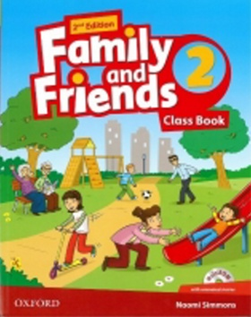 Kniha : Family and Friends (2nd Edition) 2 Course Book with MultiROM Pack - 2nd Edition