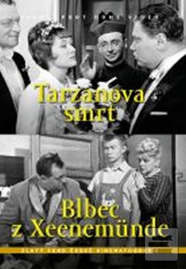 Tarzanova smrt/Blbec z Xeenemünde (2 filmy na 1 disku) - DVD box (autor neuvedený)