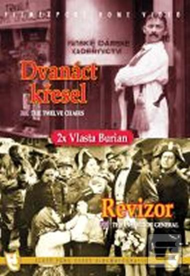 Revizor/Dvanáct křesel (2 filmy na 1 disku) - DVD box (autor neuvedený)
