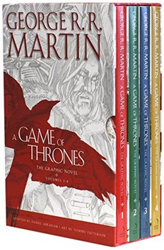 Kniha : A Game of Thrones - The Graphic Novels Volumes 1 – 4 - Volumes 1-4: The Complete Graphic Novels