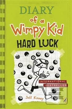 Diary Of A Wimpy Kid Books Hard Luck Kniha Diary of a Wimpy...