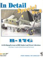 Kniha : B-17G In Detail Special No.8