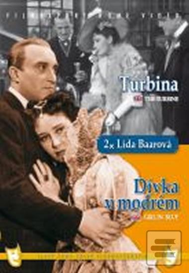 Dívka v modrém/Turbina (2 filmy na 1 disku) - DVD box (autor neuvedený)