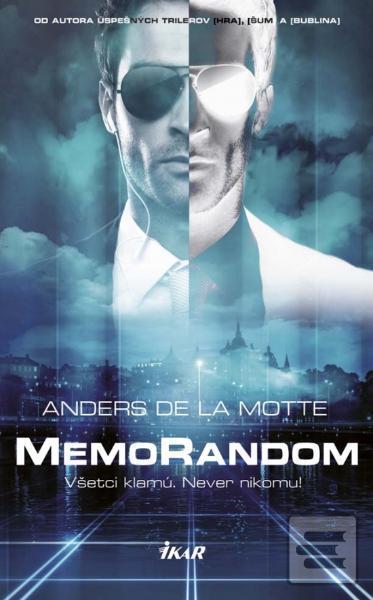 MemoRandom - Všetci klamú. Never Nikomu! Book Cover